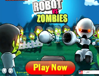 robot vs zombies